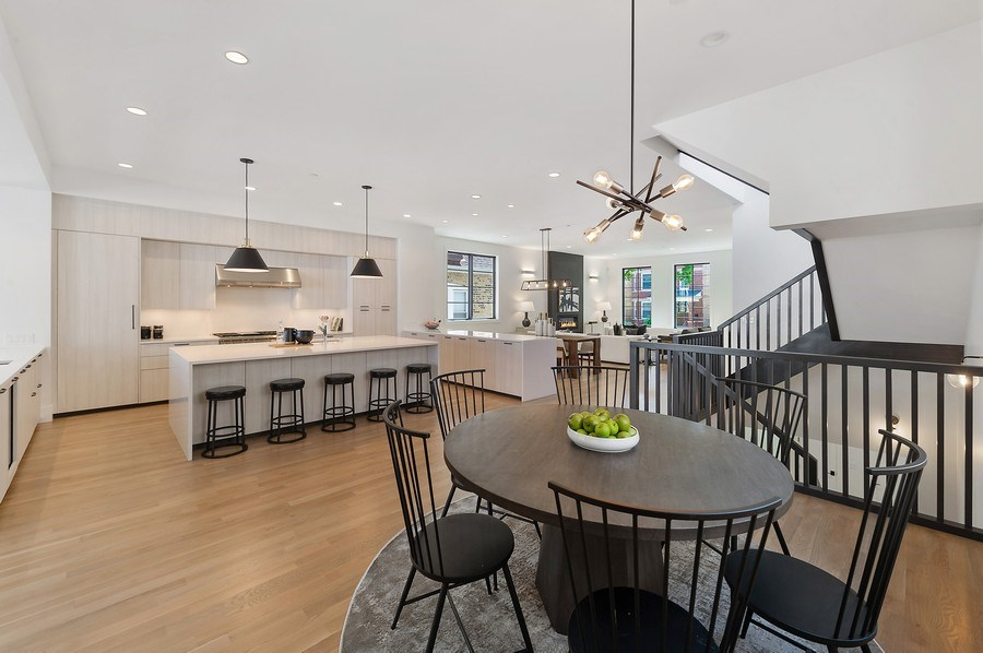 Real Estate Photography - 3647 Leavitt, Chicago, IL, 60618 - Breakfast / Kitchen