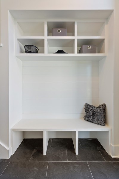 Real Estate Photography - 3647 Leavitt, Chicago, IL, 60618 - Mudroom