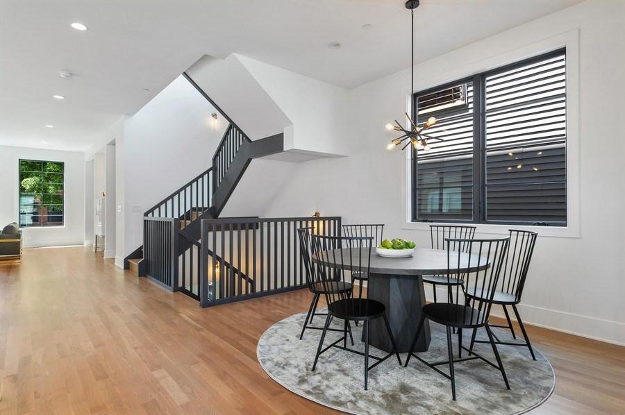 Real Estate Photography - 3647 Leavitt, Chicago, IL, 60618 - Breakfast Room