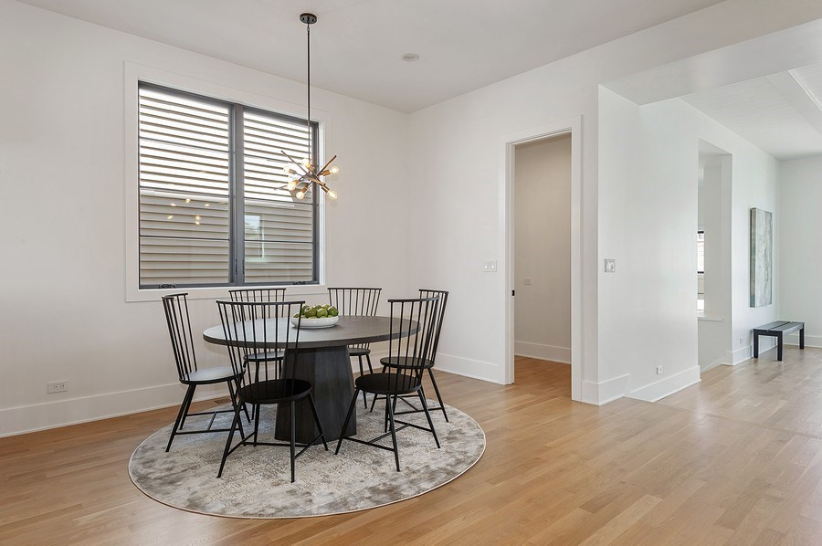 Real Estate Photography - 3647 Leavitt, Chicago, IL, 60618 - Breakfast Room