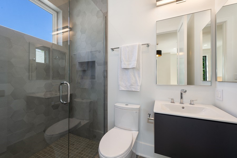 Real Estate Photography - 3647 Leavitt, Chicago, IL, 60618 - Bathroom Four