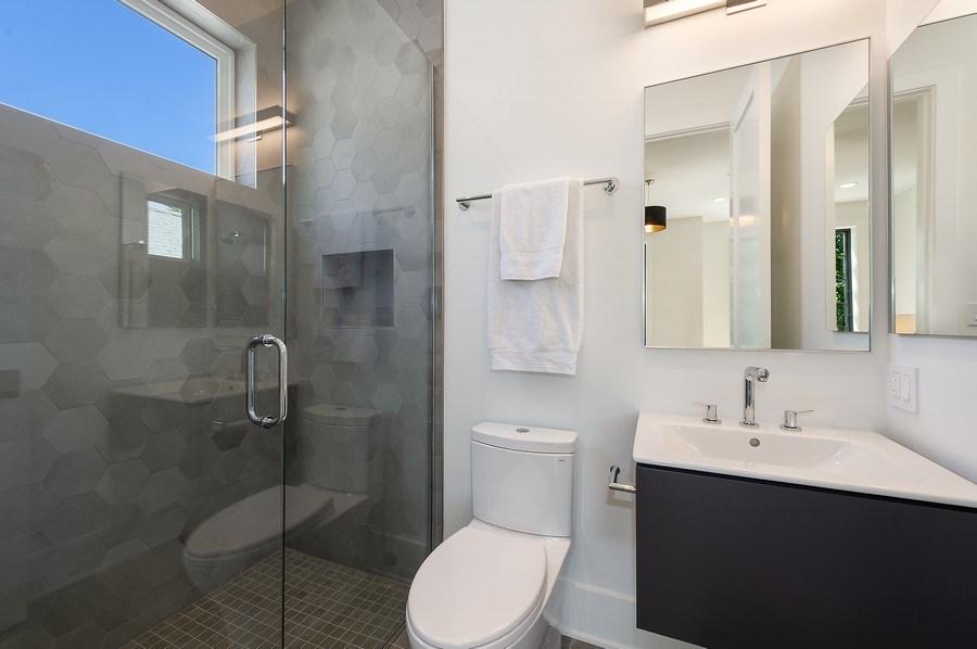 Real Estate Photography - 3647 Leavitt, Chicago, IL, 60618 - Bathroom Four