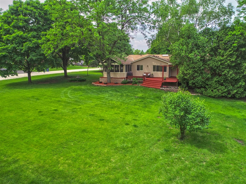 Real Estate Photography - 640 Gaslight Drive, Algonquin, IL, 60102 - Aerial View
