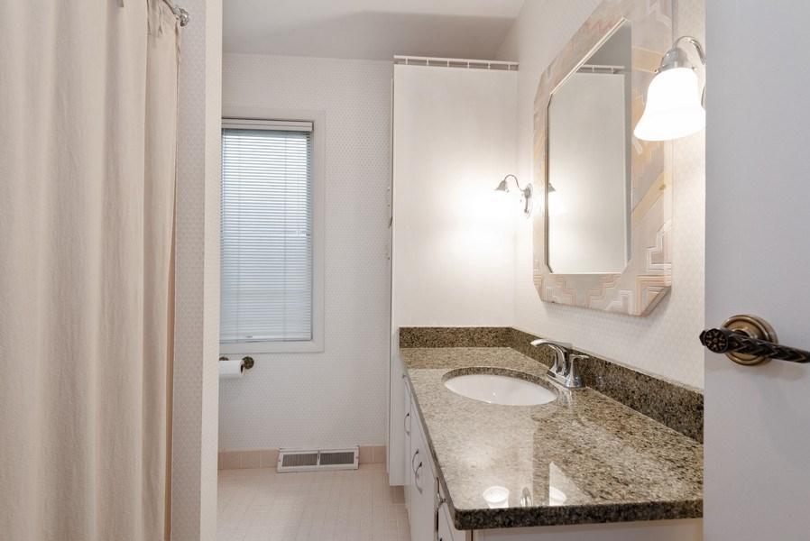 Real Estate Photography - 1440 Estate Ln, Glenview, IL, 60025 - Bathroom