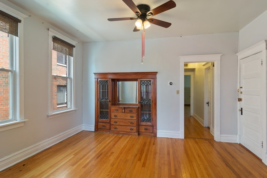 Real Estate Photography - 3110 W Irving Park Rd, Chicago, IL, 60618 - Dining Room