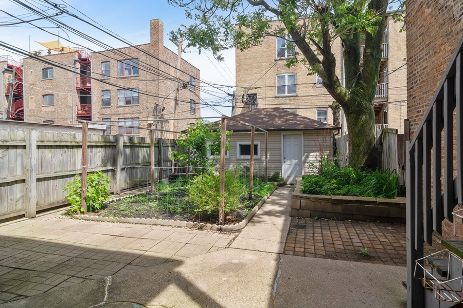 Real Estate Photography - 3110 W Irving Park Rd, Chicago, IL, 60618 - Back Yard