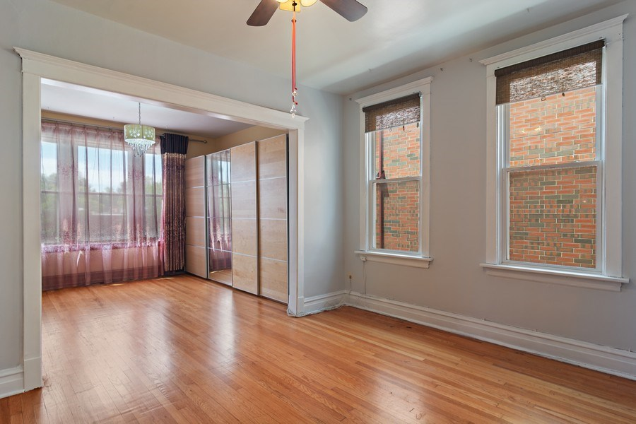 Real Estate Photography - 3110 W Irving Park Rd, Chicago, IL, 60618 - Living Room / Dining Room