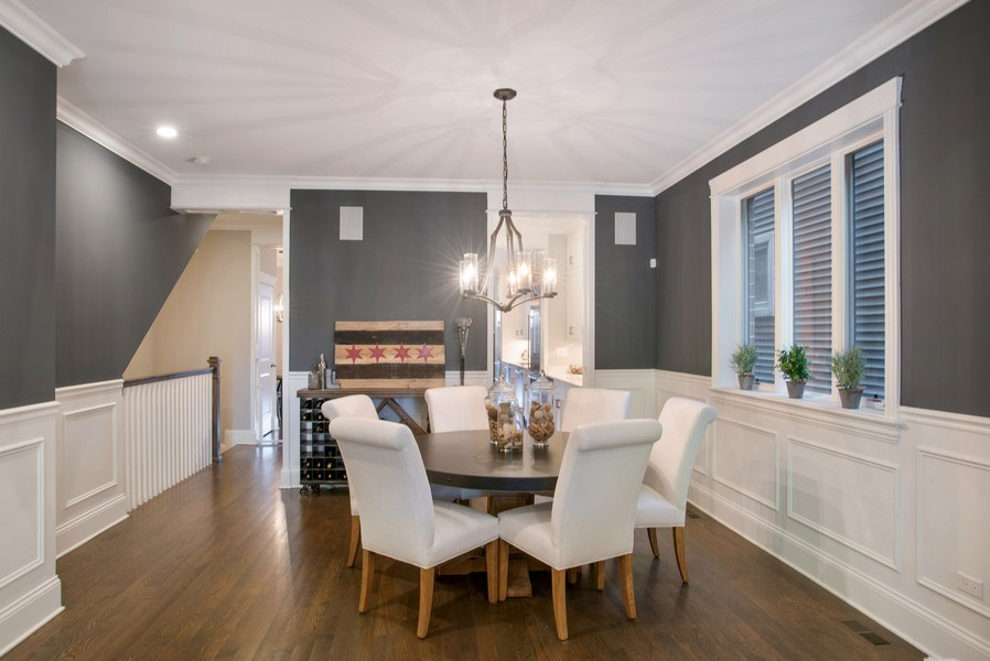 Real Estate Photography - 2250 W Roscoe, 1, Chicago, IL, 60618 - Dining Area