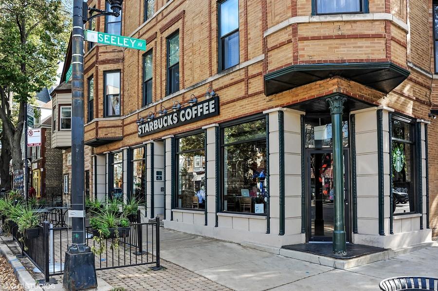 Real Estate Photography - 2250 W Roscoe, 1, Chicago, IL, 60618 - Starbucks