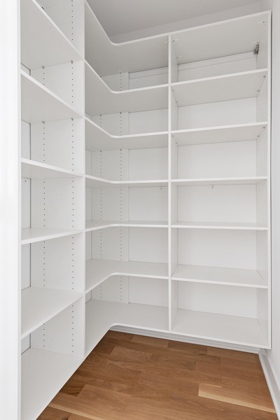 Real Estate Photography - 4432 N Western Ave, 2, Chicago, IL, 60625 - Pantry