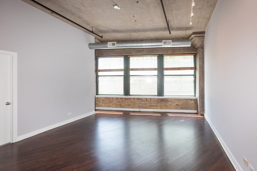 Real Estate Photography - 411 W Ontario, Unit 214, Chicago, IL, 60654 - Living Room