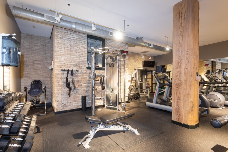 Real Estate Photography - 411 W Ontario, Unit 214, Chicago, IL, 60654 - Exercise Room