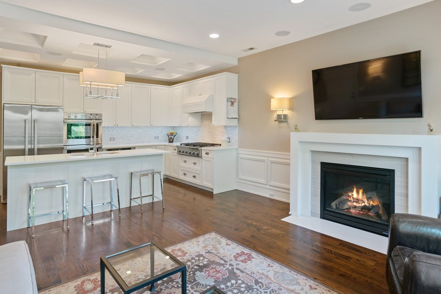 Real Estate Photography - 3816 N Ashland Ave, Unit 2N, Chicago, IL, 60613 - Living Room