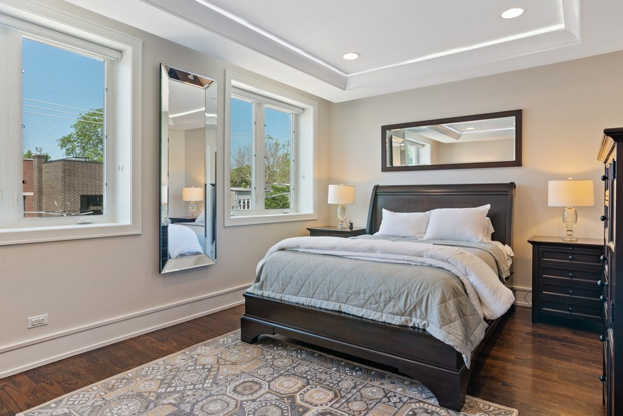 Real Estate Photography - 3816 N Ashland Ave, Unit 2N, Chicago, IL, 60613 - Master Bedroom