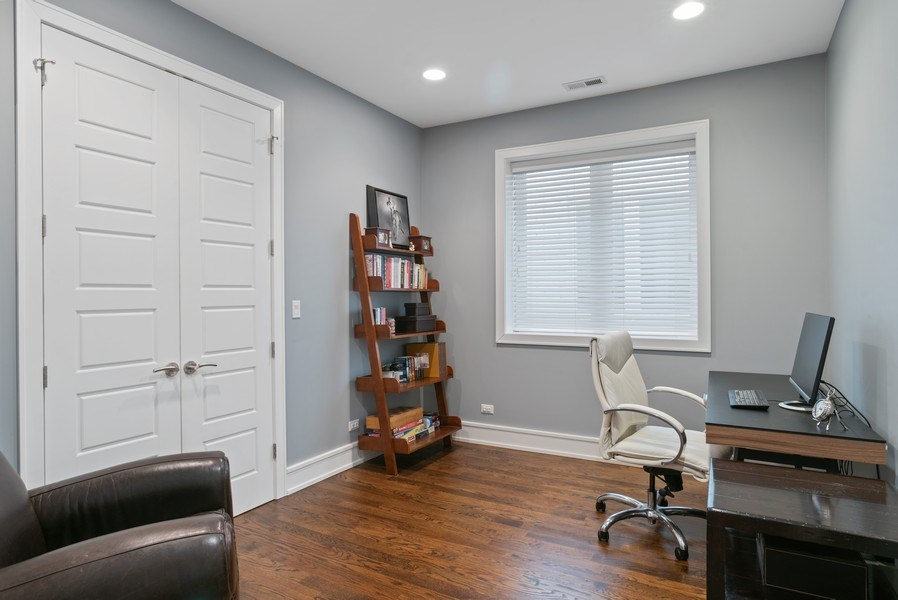 Real Estate Photography - 3816 N Ashland Ave, Unit 2N, Chicago, IL, 60613 - 3rd Bedroom