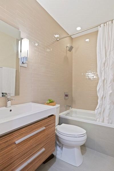 Real Estate Photography - 3816 N Ashland Ave, Unit 2N, Chicago, IL, 60613 - 2nd Bathroom