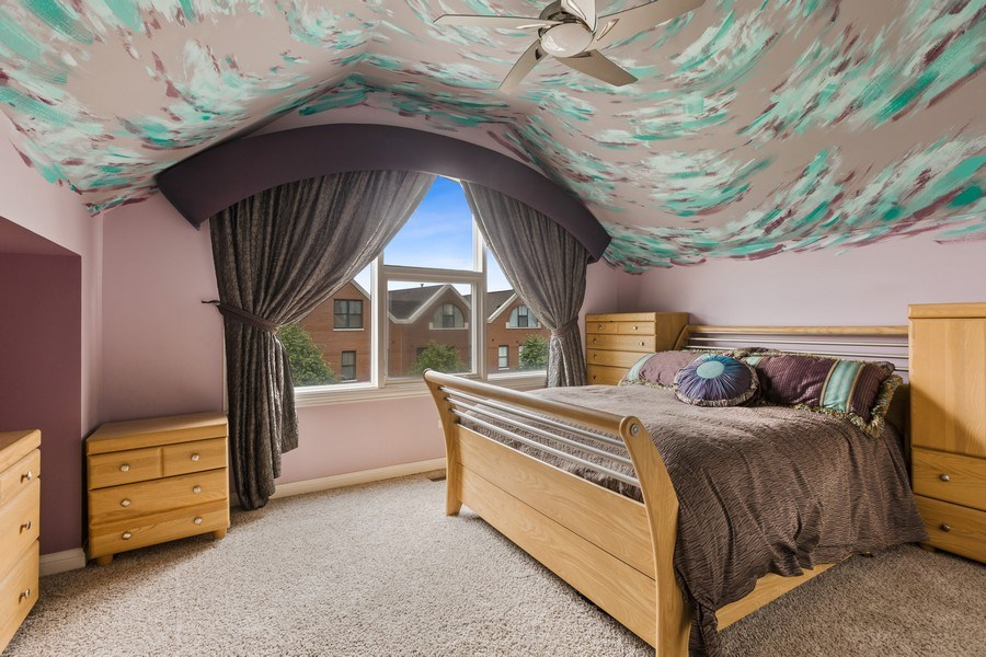 Real Estate Photography - 1890 Admiral Court, Glenview, IL, 60026 - 4th Bedroom