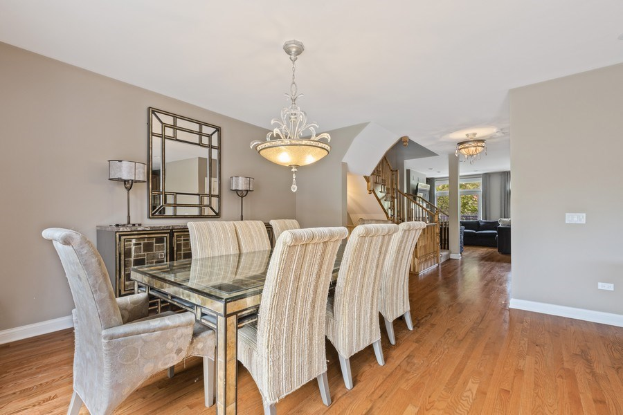 Real Estate Photography - 1890 Admiral Court, Glenview, IL, 60026 - Dining Room