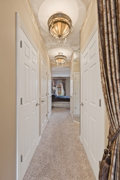 Real Estate Photography - 1890 Admiral Court, Glenview, IL, 60026 - Master Bedroom Closet