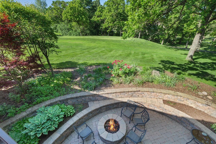 Real Estate Photography - 58 S Wynstone Dr, North Barrington, IL, 60010 - Back Yard