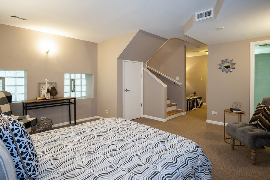 Real Estate Photography - 1708 W Wabansia, Chicago, IL, 60622 - 2nd Bedroom