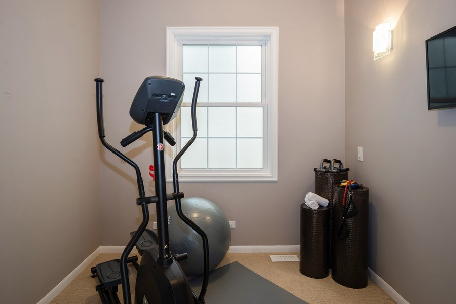 Real Estate Photography - 1708 W Wabansia, Chicago, IL, 60622 - Gym