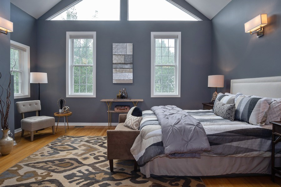 Real Estate Photography - 1708 W Wabansia, Chicago, IL, 60622 - Master Bedroom