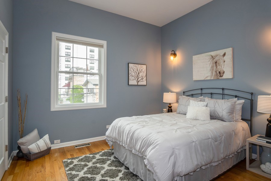 Real Estate Photography - 1708 W Wabansia, Chicago, IL, 60622 - Bedroom