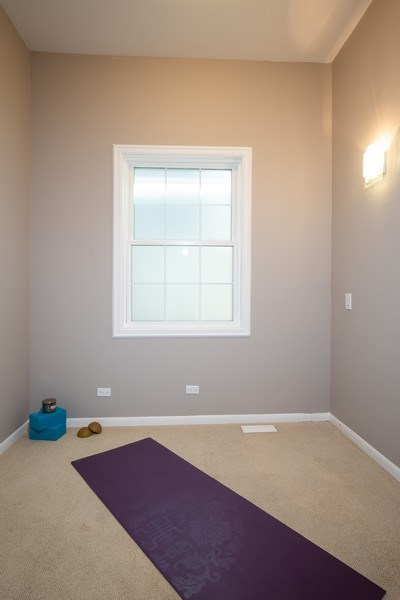 Real Estate Photography - 1708 W Wabansia, Chicago, IL, 60622 - Exercise Room