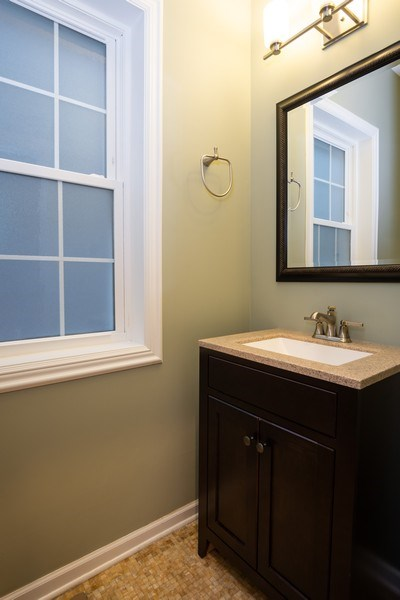 Real Estate Photography - 1708 W Wabansia, Chicago, IL, 60622 - Powder Room