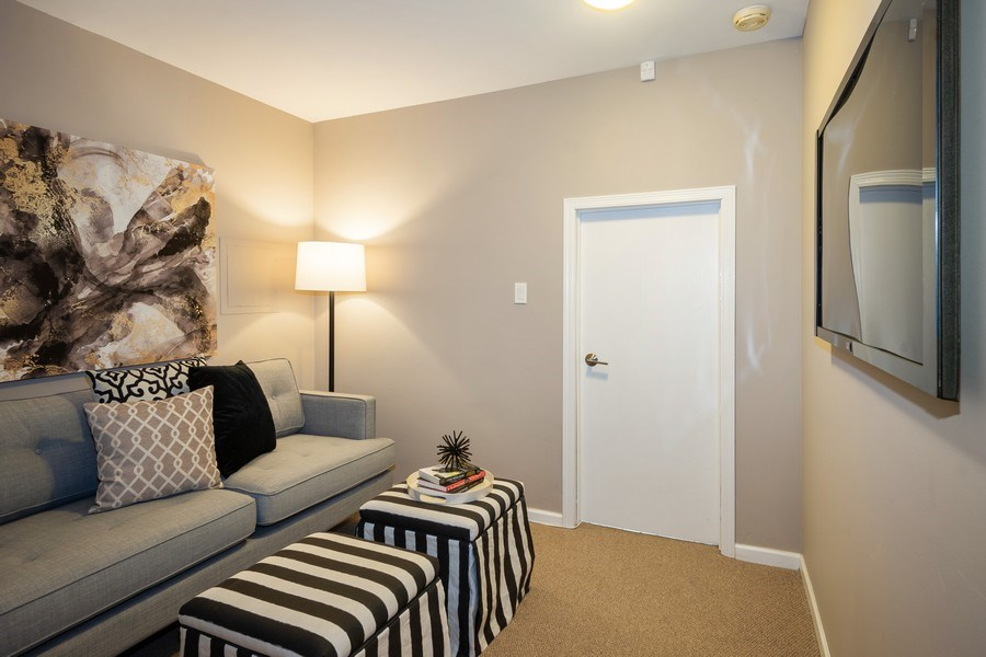 Real Estate Photography - 1708 W Wabansia, Chicago, IL, 60622 - Den