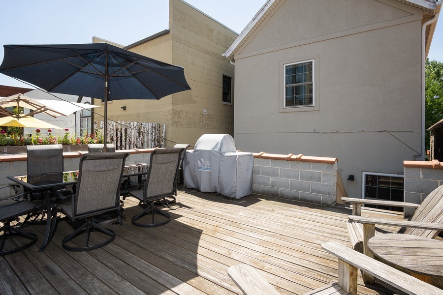 Real Estate Photography - 1708 W Wabansia, Chicago, IL, 60622 - Patio