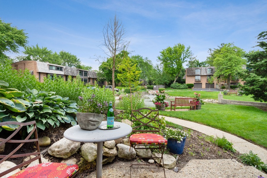 Real Estate Photography - 560 W Russell St, Barrington, IL, 60010 - Front Patio View
