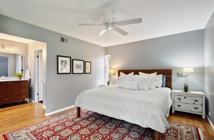 Real Estate Photography - 560 W Russell St, Barrington, IL, 60010 - Master Bedroom