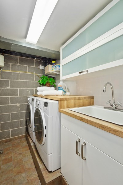Real Estate Photography - 560 W Russell St, Barrington, IL, 60010 - Laundry Room