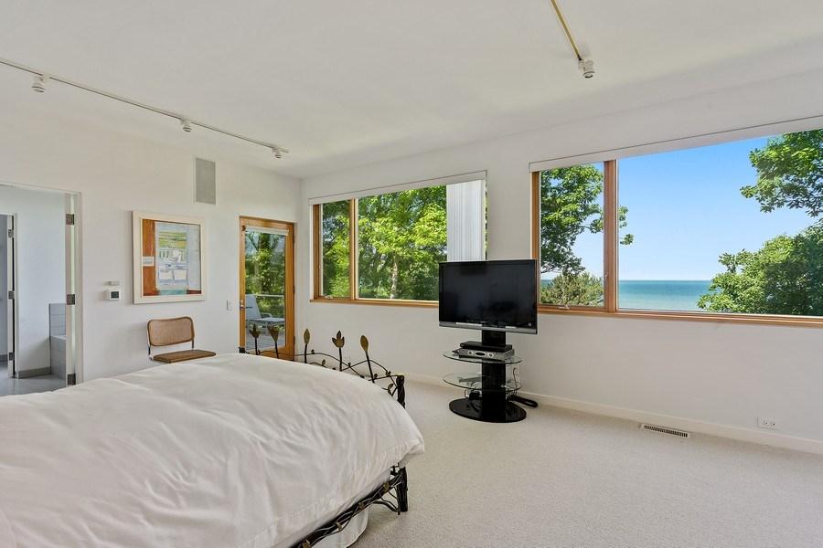 Real Estate Photography - 9475 Lakeview Dr, Bridgman, MI, 49106 - Master Bedroom