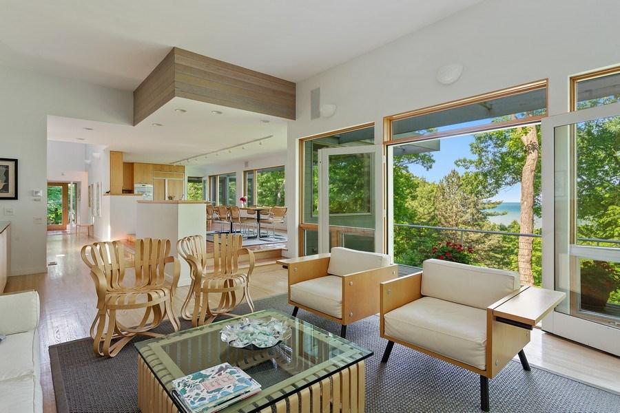 Real Estate Photography - 9475 Lakeview Dr, Bridgman, MI, 49106 - Living Room
