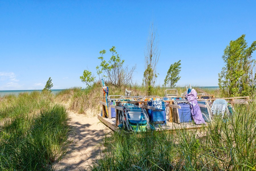 Real Estate Photography - 9475 Lakeview Dr, Bridgman, MI, 49106 - Beautiful area for your beach toys