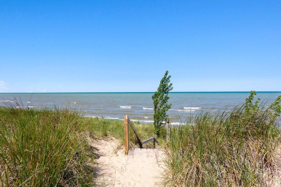 Real Estate Photography - 9475 Lakeview Dr, Bridgman, MI, 49106 - Association beach