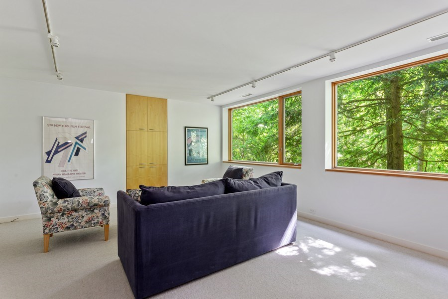 Real Estate Photography - 9475 Lakeview Dr, Bridgman, MI, 49106 - Family room  - lower level