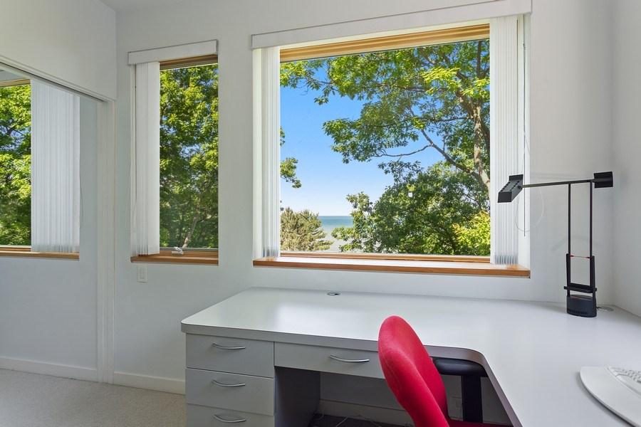 Real Estate Photography - 9475 Lakeview Dr, Bridgman, MI, 49106 - Office