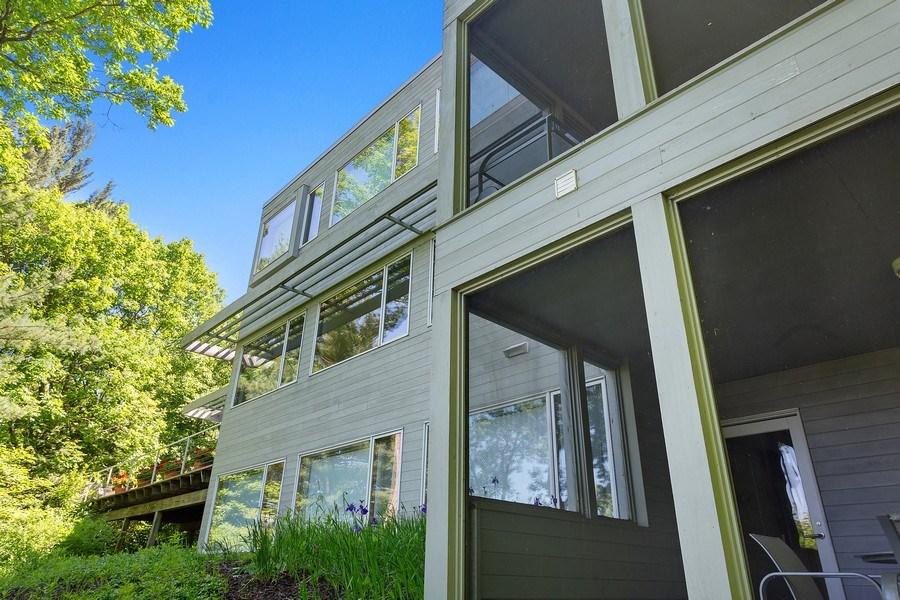 Real Estate Photography - 9475 Lakeview Dr, Bridgman, MI, 49106 - Dune top front view