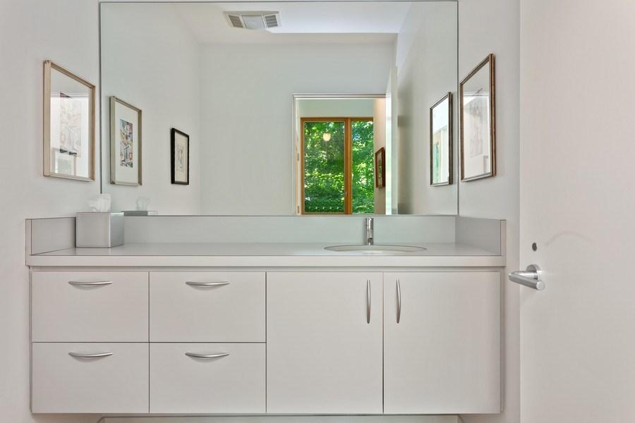Real Estate Photography - 9475 Lakeview Dr, Bridgman, MI, 49106 - Half Bath