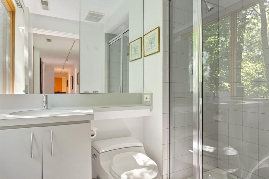 Real Estate Photography - 9475 Lakeview Dr, Bridgman, MI, 49106 - Second bathroom