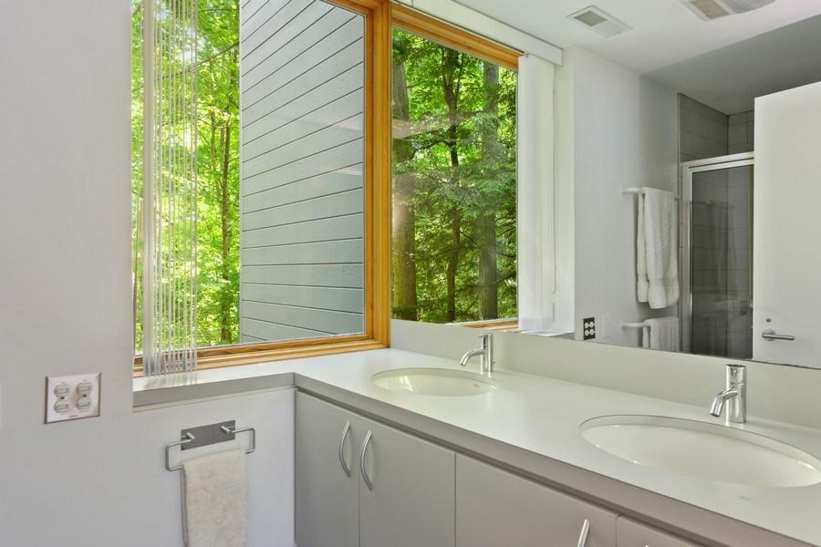Real Estate Photography - 9475 Lakeview Dr, Bridgman, MI, 49106 - Third bathroom