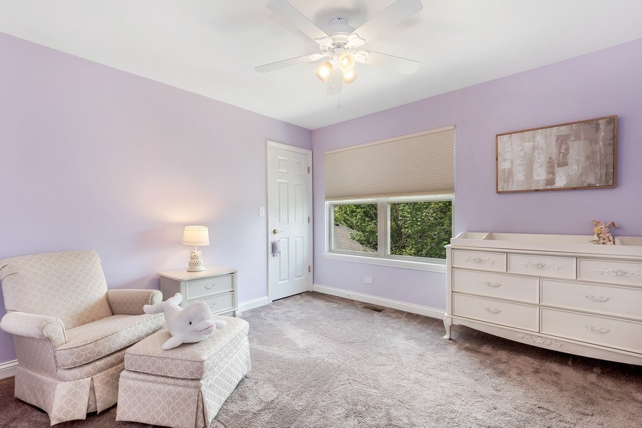 Real Estate Photography - 2548 Violet St, Glenview, IL, 60026 - 2nd Bedroom