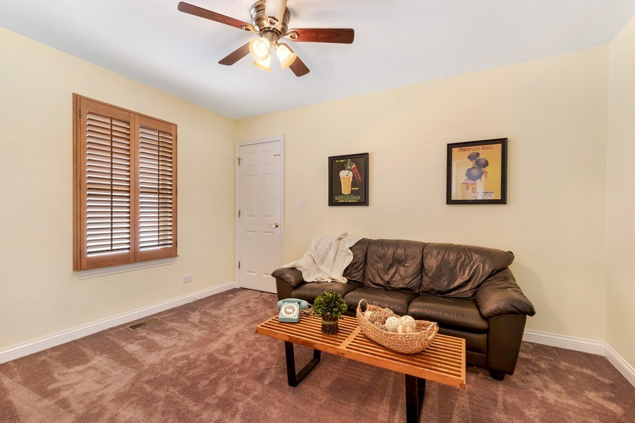 Real Estate Photography - 2548 Violet St, Glenview, IL, 60026 - 3rd Bedroom