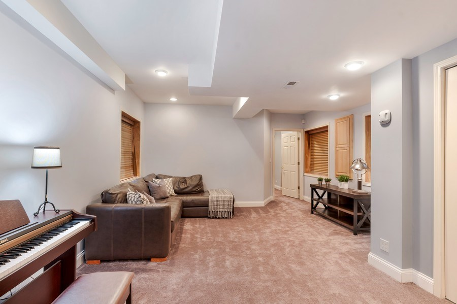 Real Estate Photography - 2548 Violet St, Glenview, IL, 60026 - Basement