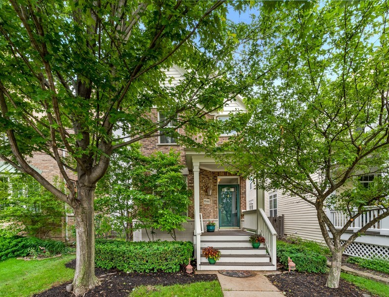 Real Estate Photography - 2548 Violet St, Glenview, IL, 60026 - Front View