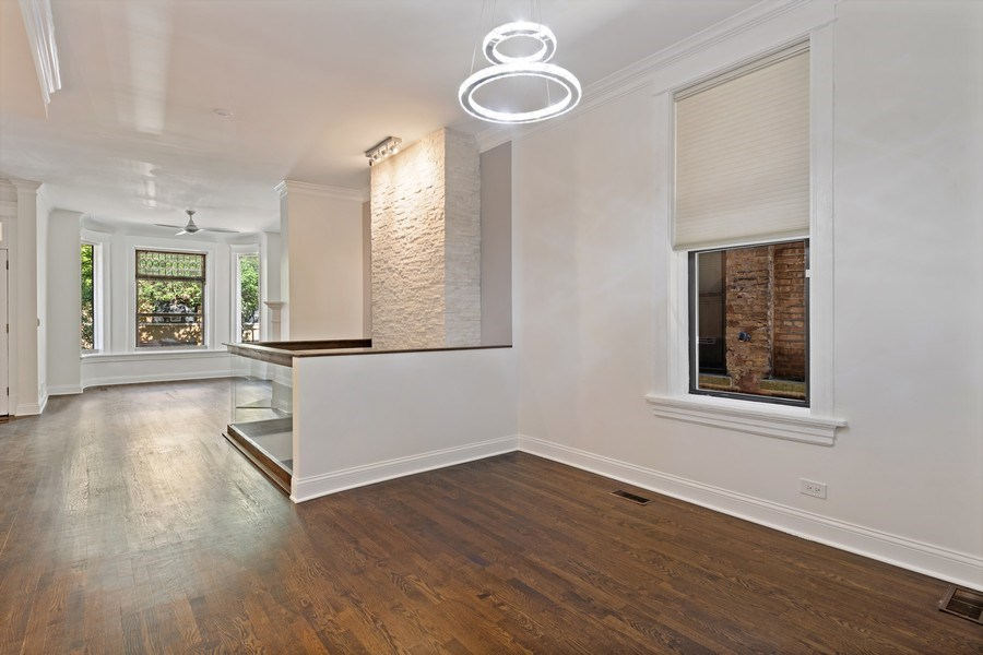 Real Estate Photography - 4008 N Clarendon, Chicago, IL, 60613 - Dining Room